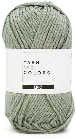 Yarn and colors Epic 080 eucalyptus