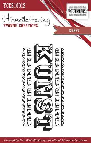 Yvonne Creations - Clearstamp - Handlettering - Kunst - YCCS10012