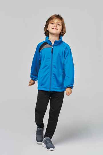 Tenue Wave trainingsjack kid 8513