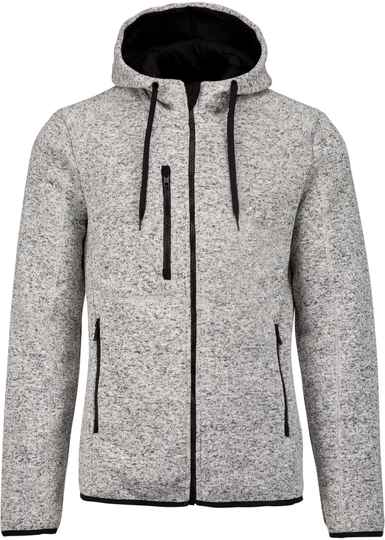 Heather hooded jack  2102