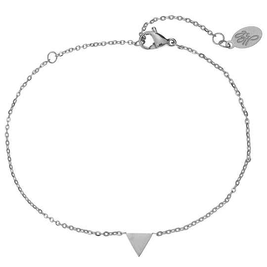 Armband little triangle - zilver