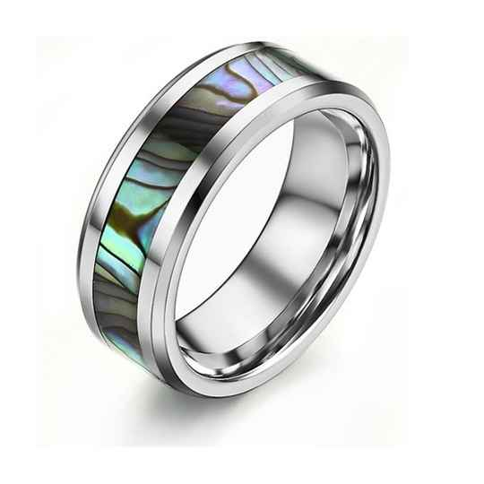 Ring Wolfraam Shell