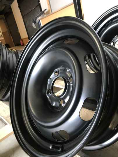 Verbreed staal velg 15 inch 4x108 7j