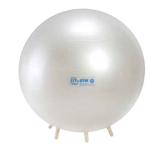 Gymnic fitnessbal sit'n'gym 55 cm parelmoer
