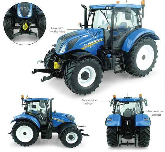 New Holland T6.165 Dynamic Command