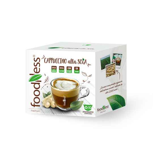 Foodness soja cappuccino Dolce Gusto® - 10 capsules