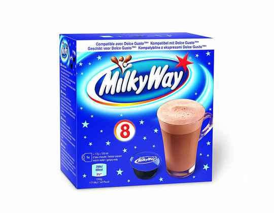 Milky Way - 8 compatible capsules - Dolce Gusto