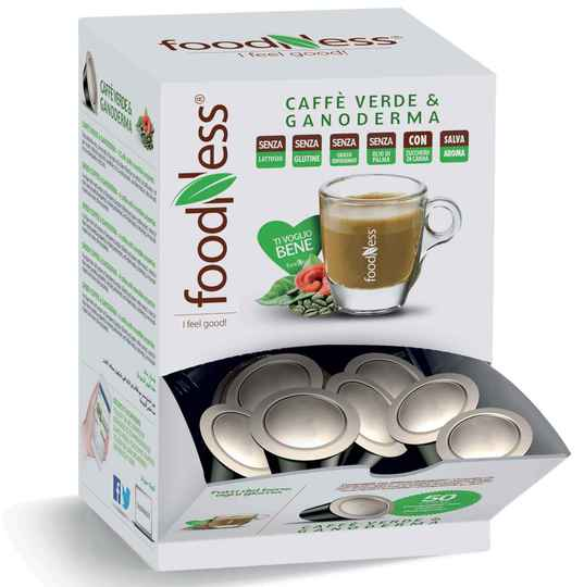 Foodness Caffe Verde - Dolce Gusto® - 50 Capsules