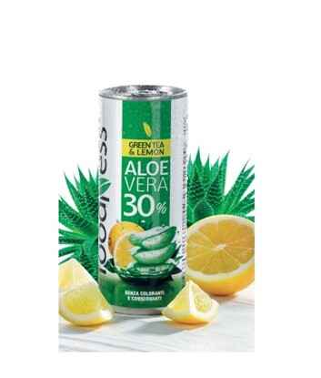 Foodness - aloe vera green tea & lemon