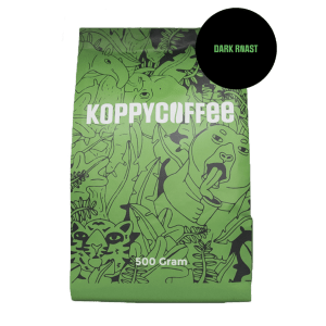 Koppycoffee - Dark roast 500 gram (Arabica)