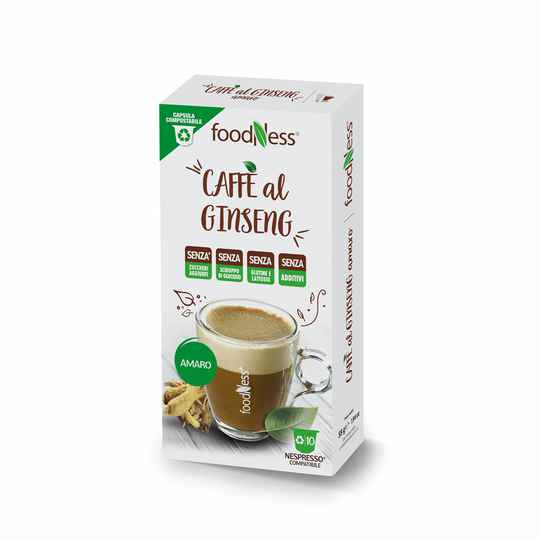 Foodness Ginseng Unsweetened - Nespresso® - 10 capsules