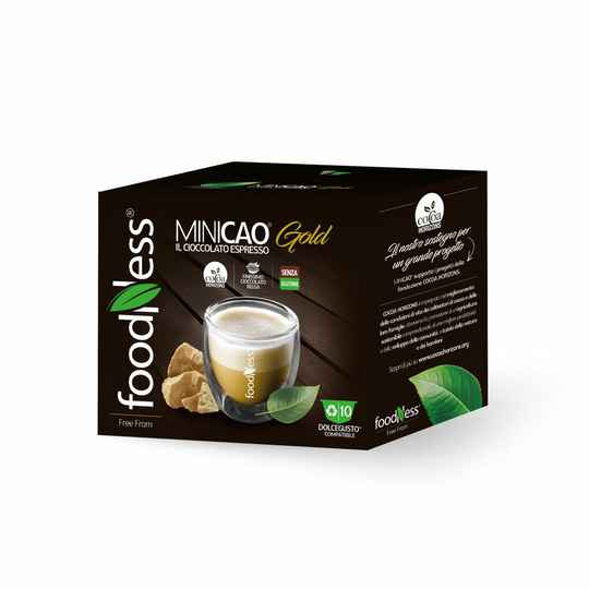 Foodness - Minicao Gold - Dolce® 10 capsules