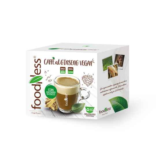 Foodness Ginseng Vegan - Dolce Gusto® - 10 capsules
