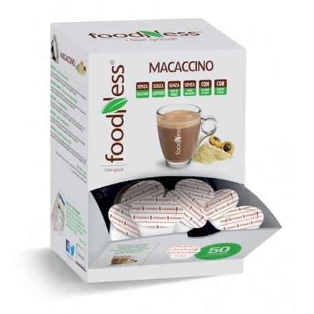 Foodness Macaccino - Dolce Gusto  - 50 Capsules
