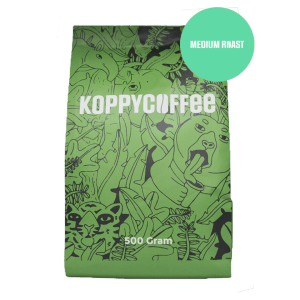 Koppycoffee - Medium roast 500 gram (Arabica)