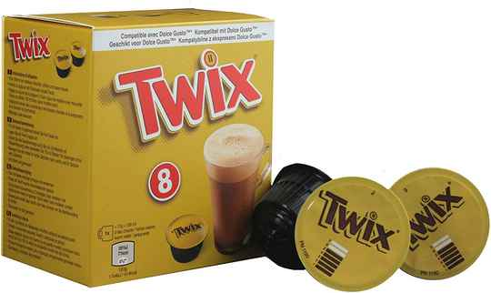 Twix - 8 Dolce Gusto® capsules