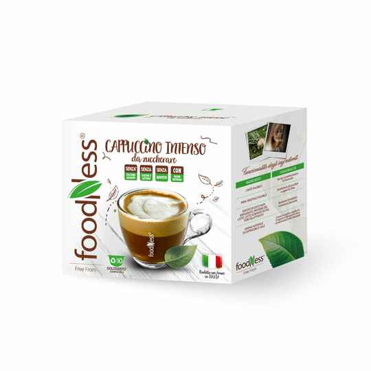 Foodness Cappuccino Intenso - Dolce Gusto® - 10 capsules