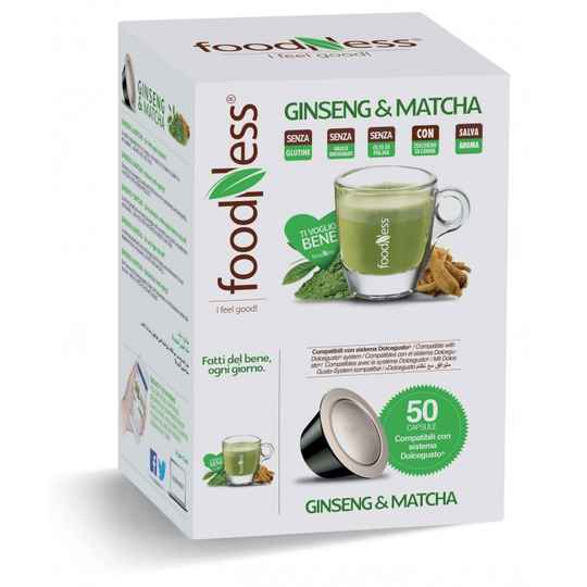 Foodness Ginseng & Matcha FREE - Dolce Gusto® - 50 Capsules