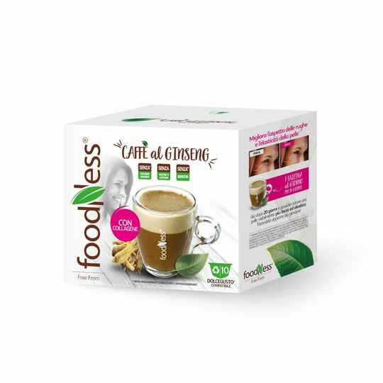 Foodness Ginseng & Collagene - Dolce Gusto® - 10 capsules