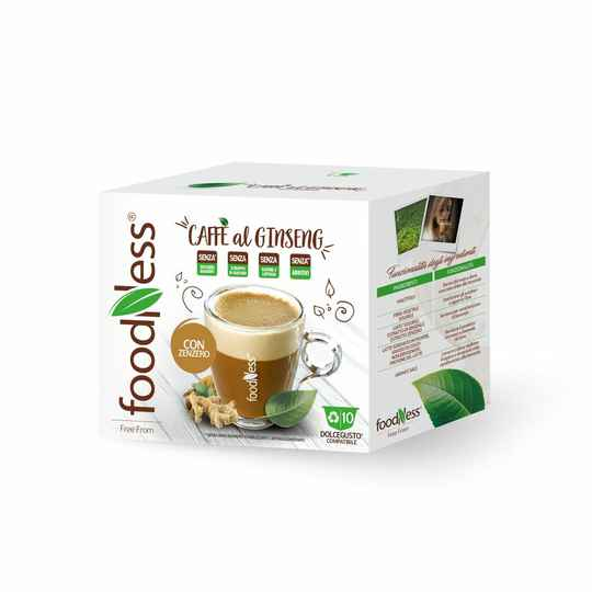 Foodness Ginseng & Gember - Dolce Gusto® 10 capsules