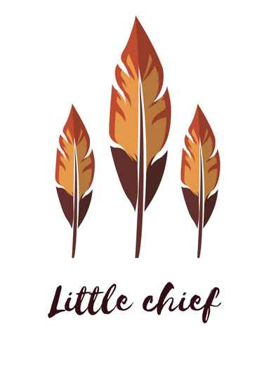 Poster 'Little Chief'
