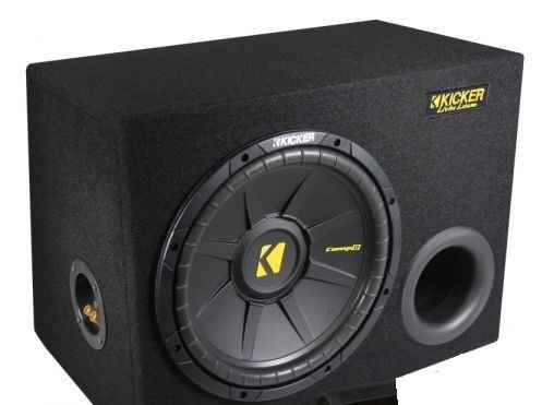 "Kicker 12"" CompD in kist"