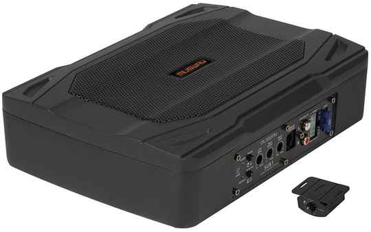 """Musway SUB1 ACTIVE UNDERSEAT-SUBWOOFER-SYSTEM  WITH 15 x 20 CM (6 x 8"""") SUBWOOFER"""
