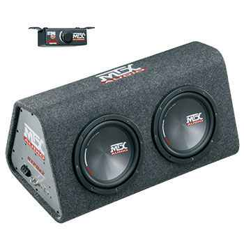 MTX RTP8x2 Roadthunder 2x8' powered encl. 240W rms ACTIVE