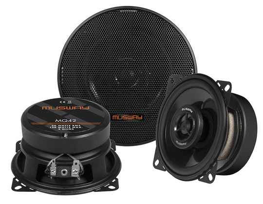 """Musway MQ42 10 CM (4"""") 2-WAY COAXIAL-SPEAKERS"""