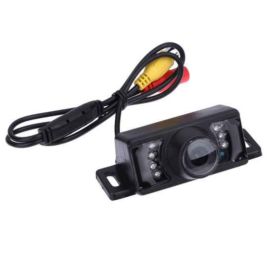 Universele 7 LED HD Nachtzicht Auto Reverse Camera Waterdicht 170 Graden CMOS Parking achteruitrijcamera