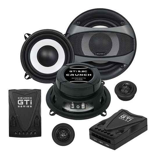 """GTi5.2C Crunch  13 cm (5.25"""") Component System"""