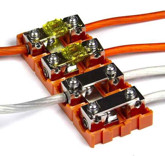 Musway MFB100 MODULAR MINI-ANL FUSE HOLDER FOR CABLE CROSS SECTIONS UP TO 20 MM2