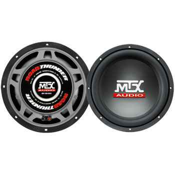 MTX RT10-04 Roadthunder 10' subwoofer 4ohm
