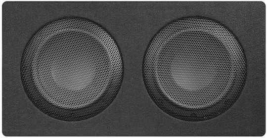 """Musway MR206Q  DUAL-BASSREFLEX-SYSTEM WITH  TWO 16,5 CM (6.5"""") SUBWOOFERS"""