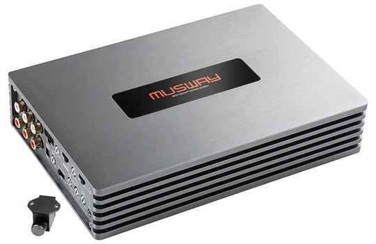 Musway FOUR100 4-CHANNEL CLASS D AMPLIFIER  · 800 WATTS RMS