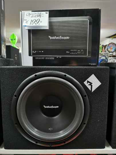 Rockford subwoofer set 300 RMS