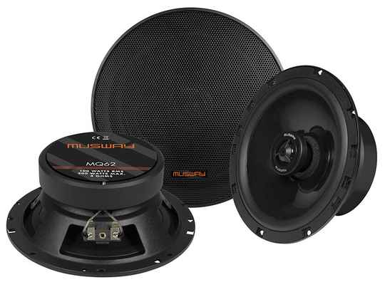 """Musway MQ62 16,5 CM (6.5"""") 2-WAY COAXIAL-SPEAKERS"""