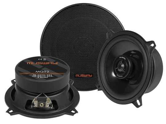 """Musway MQ52 13 CM (5.25"""") 2-WAY COAXIAL-SPEAKERS"""