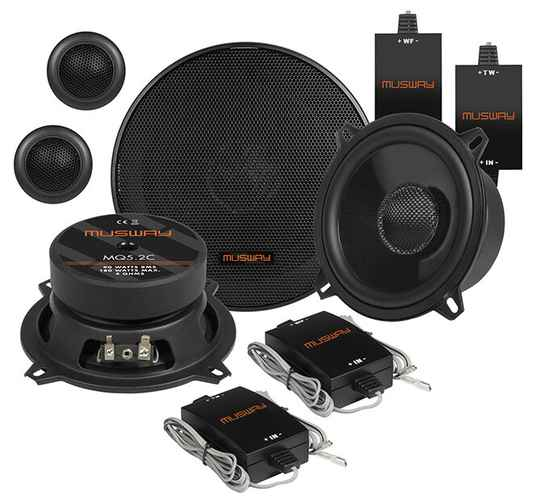"""Musway MQ5.2C 13 CM (5.25"""") 2-WAY COMPONENT-SYSTEM"""