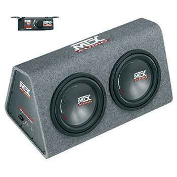 MTX RTP12x2 Roadthunder 2x12'' powered encl. 240W ACTIVE