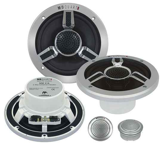 "MBQUART NSE216  16,5 cm (6,5 "") 2-weg  component System MARINE SPEAKERS COMPO"