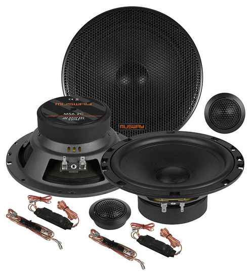 """Musway MS6.2C  16,5 CM (6.5"""") 2-WAY COMPONENT-SYSTEM"""