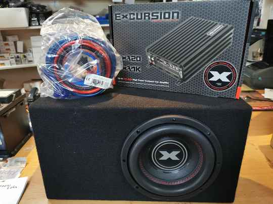 Excursion Subwooferset 400 watt RMS