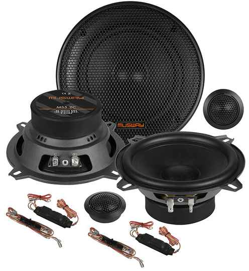 """Musway MS5.2C  13 CM (5.25"""") 2-WAY COMPONENT-SYSTEM"""