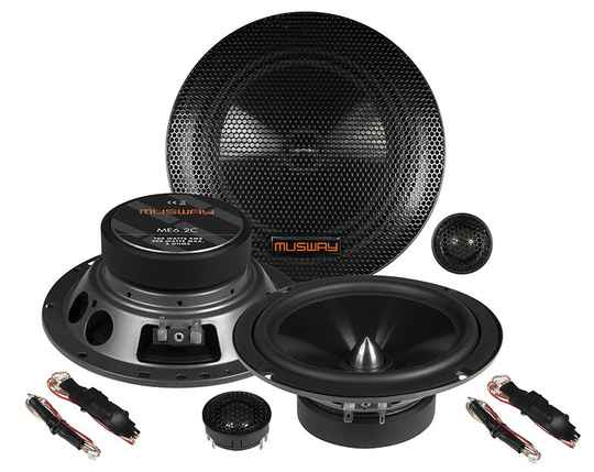 """Musway ME6.2C  16,5 CM (6.5"""") 2-WAY COMPONENT-SYSTEM"""