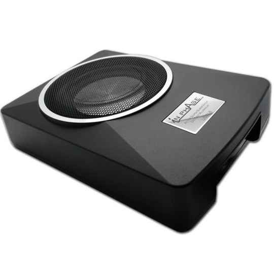 "INPHASE USW8 Underseat Subwoofer 8""inch 300 Watts"