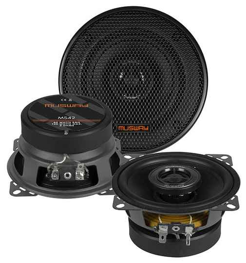 """Musway MS42 10 CM (4"""") 2-WAY COAXIAL-SPEAKERS"""