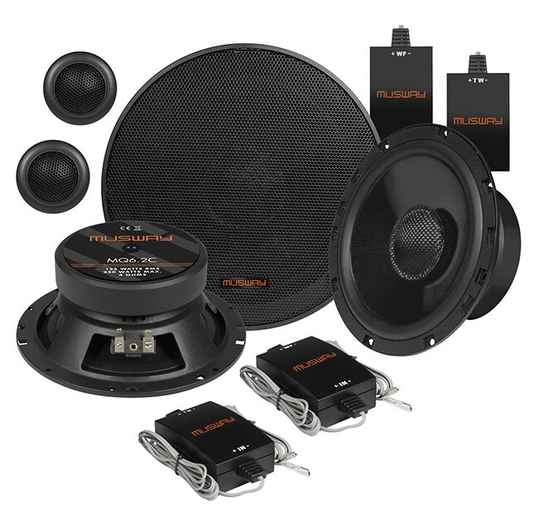 """Musway MQ6.2C 16,5 CM (6.5"""") 2-WAY COMPONENT-SYSTEM"""