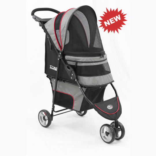 Avenue Buggy - Grey / Red