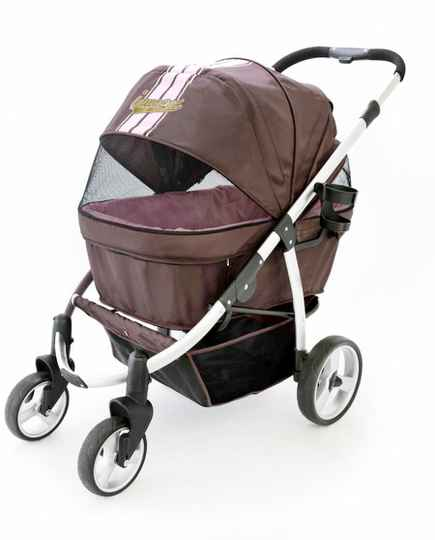 Retro Buggy - Brown/Pink